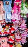 Muñecas de la tela Imagenes de archivo