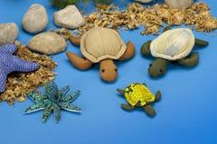 Muñecas de la tortuga imágenes de archivo libres de regalías