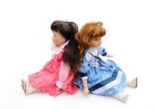 Muñecas de la vendimia Fotos de archivo