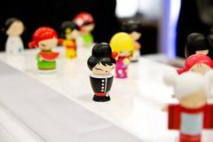 Muñecas de madera Fotos de archivo libres de regalías