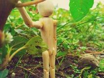 muñecas de madera Fotos de archivo