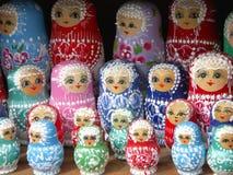 Muñecas de Matrioshka Imágenes de archivo libres de regalías