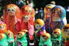 Muñecas de Matroyska Imágenes de archivo libres de regalías