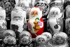 Muñecas de Matrushka fotos de archivo
