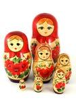 Muñecas de Matrushka fotografía de archivo libre de regalías