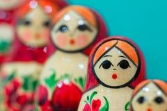 Muñecas de Matryoshka Foto de archivo