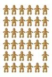 Muñecas de trabajo Fotografía de archivo