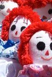 Muñecas de trapo Imagen de archivo
