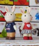 Muñecas del conejo Foto de archivo libre de regalías