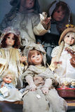 Muñecas del vintage Imágenes de archivo libres de regalías