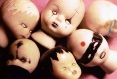 Muñecas extrañas Imagen de archivo libre de regalías