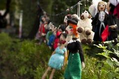Muñecas hechas a mano Fotografía de archivo