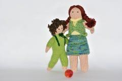 Muñecas hechas a mano Foto de archivo