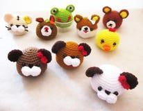 Muñecas hechas a mano Imagen de archivo libre de regalías
