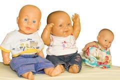Muñecas hermosas Fotografía de archivo