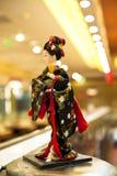 Muñecas japonesas foto de archivo libre de regalías