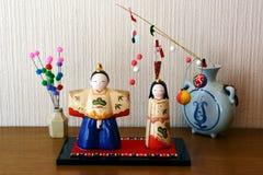 Muñecas japonesas de Hina Imagenes de archivo