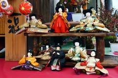 Muñecas japonesas de Hina Fotografía de archivo libre de regalías
