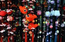 Muñecas japonesas de Hina Foto de archivo