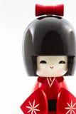 Muñecas japonesas del kokeshi Fotografía de archivo