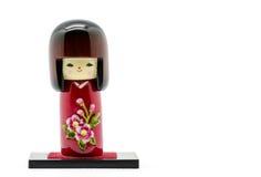 Muñecas japonesas, Kokeshi Foto de archivo