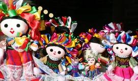 Muñecas mexicanas Foto de archivo libre de regalías