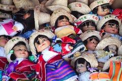 Muñecas mexicanas Foto de archivo