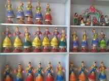Muñecas a montones Imagen de archivo libre de regalías