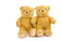 Muñecas preciosas del oso Foto de archivo libre de regalías