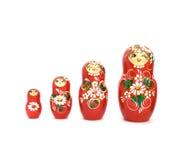 Muñecas rusas Imagenes de archivo