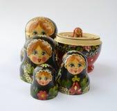 Muñecas rusas Fotos de archivo libres de regalías