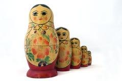 Muñecas rusas Fotos de archivo
