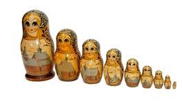 Muñecas rusas de Babushka como monjas Foto de archivo libre de regalías
