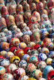 Muñecas rusas de la jerarquización Imagen de archivo