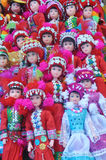 Muñecas tribales. Fotos de archivo