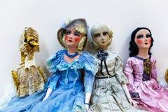 Muñecas viejas Fotos de archivo