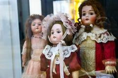 Muñecas viejas Foto de archivo