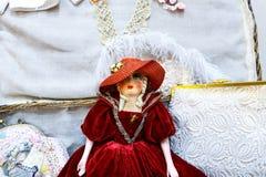 Muñecas viejas Imágenes de archivo libres de regalías