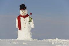 Muñeco de nieve imagen de archivo