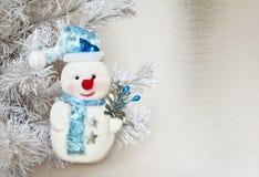 Muñeco de nieve. Imagen de archivo libre de regalías