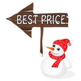 Muñeco de nieve Foto de archivo libre de regalías