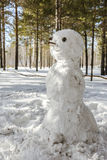 Muñeco de nieve Foto de archivo