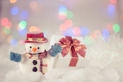 Muñeco de nieve Fotos de archivo libres de regalías