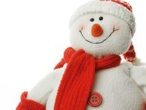 Muñeco de nieve de Happpy Foto de archivo