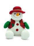 Muñeco de nieve de la Navidad. Fotografía de archivo
