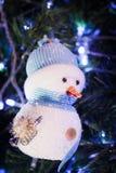 Muñeco de nieve de la sonrisa Imagenes de archivo