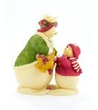 Muñeco de nieve de los juguetes Fotos de archivo libres de regalías