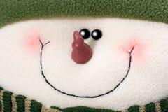 Muñeco de nieve del arte Fotos de archivo libres de regalías