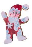 Muñeco de nieve del mazapán imágenes de archivo libres de regalías