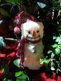 Muñeco de nieve en el florista Shop Imagen de archivo libre de regalías